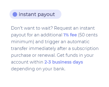 instant-payout